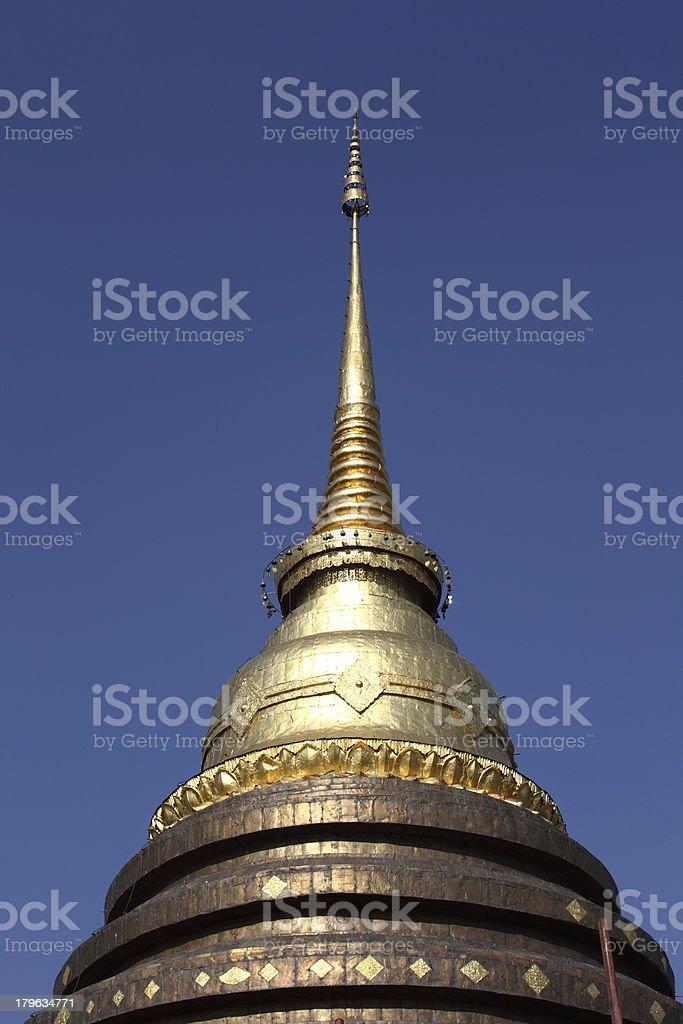 Beautiful Phra-Tart-Lampang-L uang,Thailand royalty-free stock photo