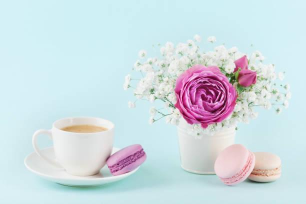 Beautiful pink rose flower and gypsophilla in vase macaroon and cup picture id656688758?b=1&k=6&m=656688758&s=612x612&w=0&h=dti7o9uzn5thzbkxarjf1bu2fm3ptzc0aqacs9rz00o=