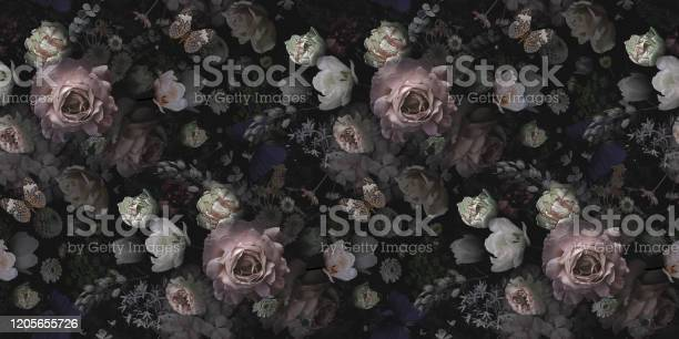 Beautiful pink roses and garden flowers floral vintage seamless picture id1205655726?b=1&k=6&m=1205655726&s=612x612&h=53sj8iv hyudbtwpxepszed3ybsvbyvysh6f9w2 yss=