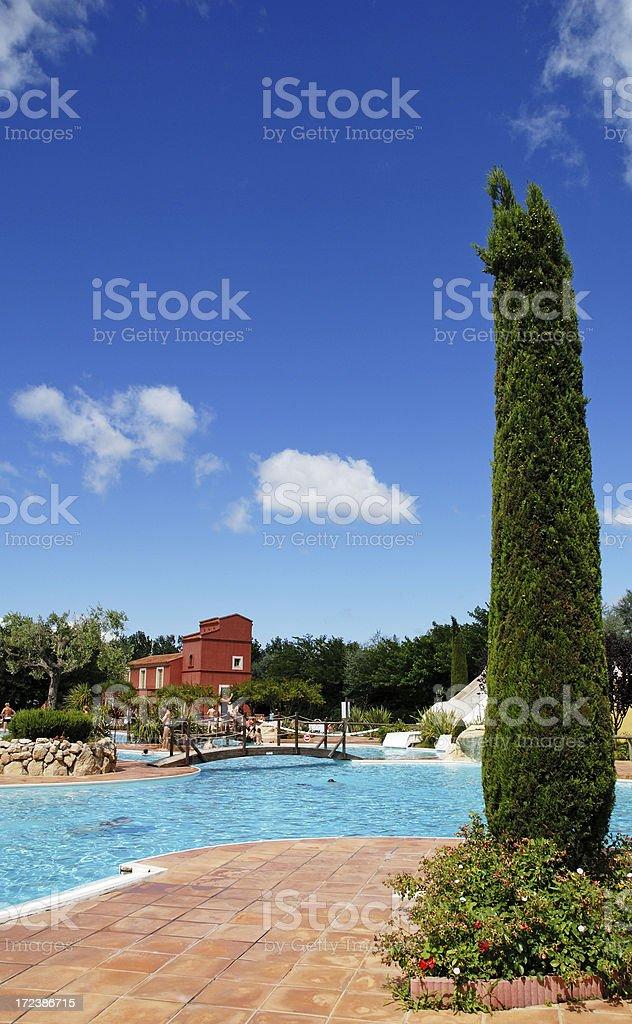 Beautiful Pool royalty-free stock photo