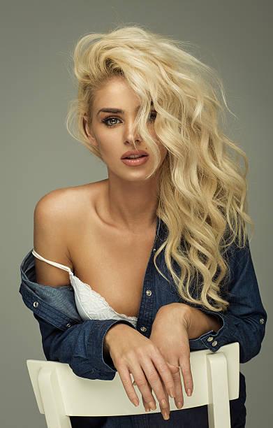 Piękny Portret Moda kobieta – zdjęcie