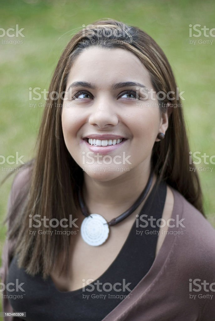 Beautiful Portrait royalty-free stock photo