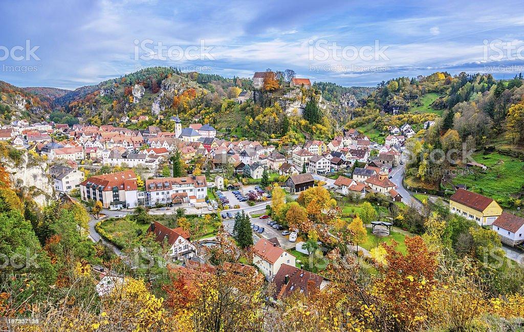 Wunderschöne Pottenstein-die Fränkische Schweiz (Deutschland) – Foto