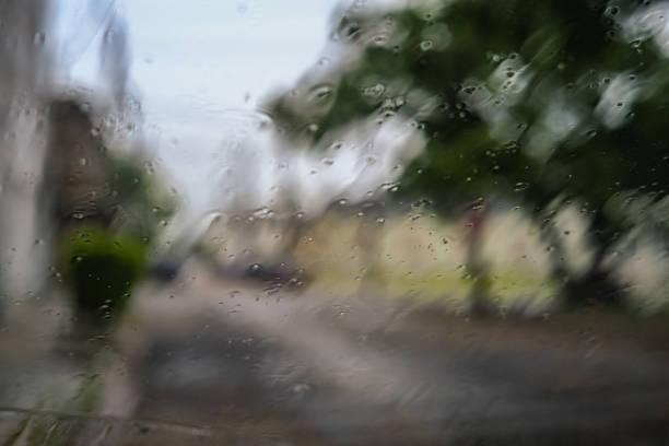 Beautiful Rain stock photo