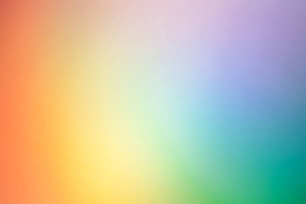 beautiful rainbow backgrounds - spectrum stock pictures, royalty-free photos & images