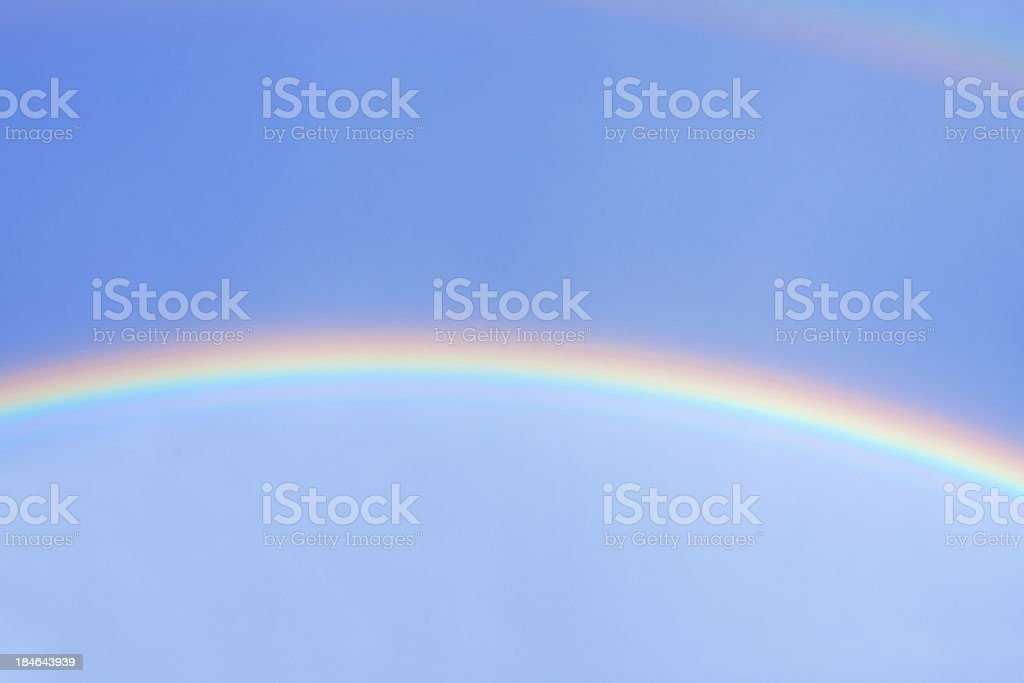 beautiful rainbow royalty-free stock photo