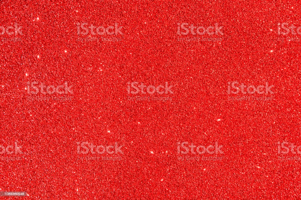 Beautiful red festive background. Shiny with stars abstract for...