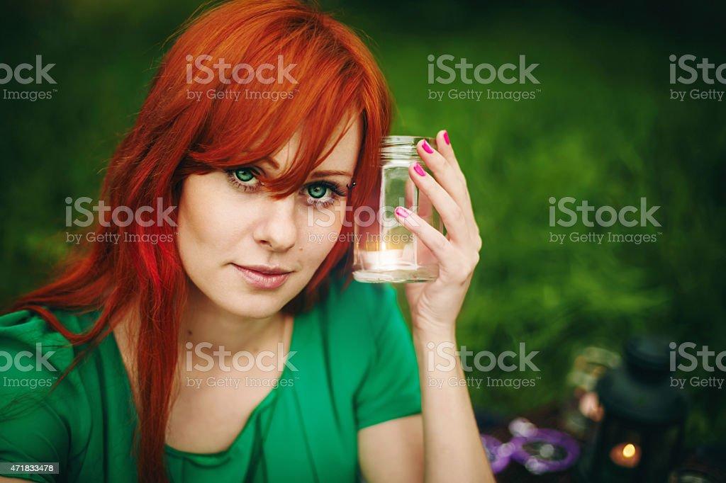 Augen haare grüne rote Rote Haare