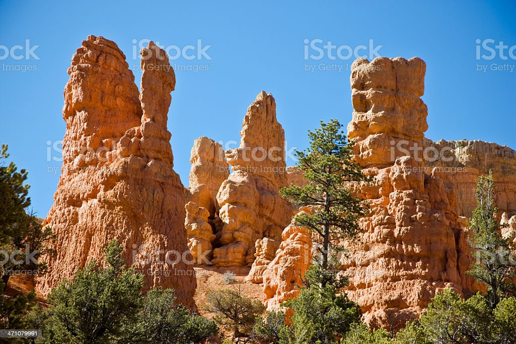 Beautiful Red Rock Landscape royalty-free stock photo