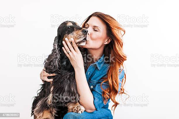 Beautiful redhead woman on her 40s with her dog picture id478639352?b=1&k=6&m=478639352&s=612x612&h=5cg0riksqp5 seaqibz1wx bd136ojd9rqgkrpe g48=