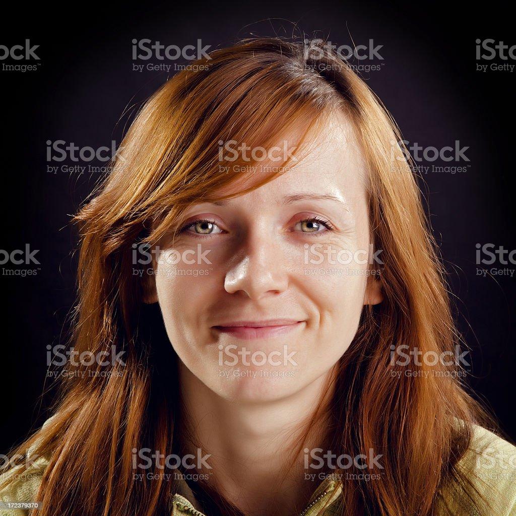 Beautiful Redhead Woman royalty-free stock photo