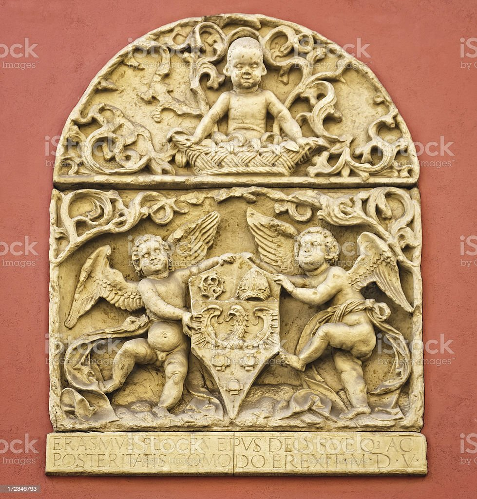 Beautiful relief royalty-free stock photo