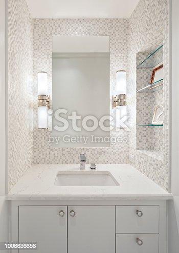 Beautiful remodeled bathroom in a condominium