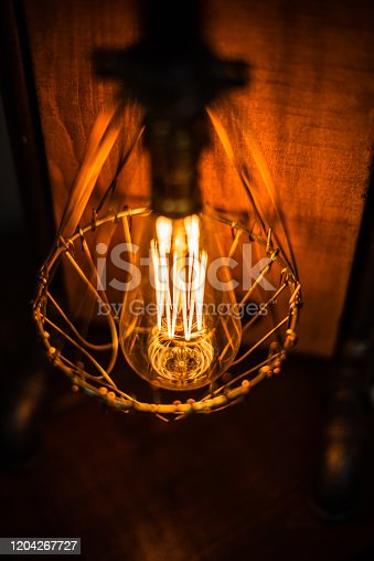 1137999886 istock photo Beautiful retro luxury interior lighting lamp decor antique shop house uk storage detail closeup sharp focus bokeh space for text advertising electricity 1204267727