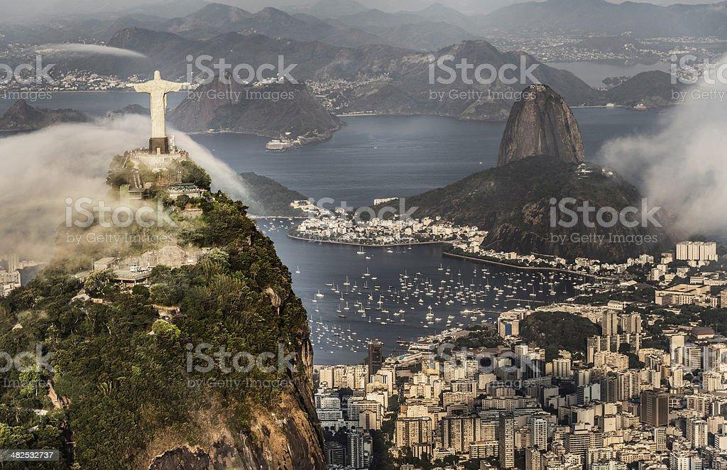 Beautiful Rio de Janeiro royalty-free stock photo