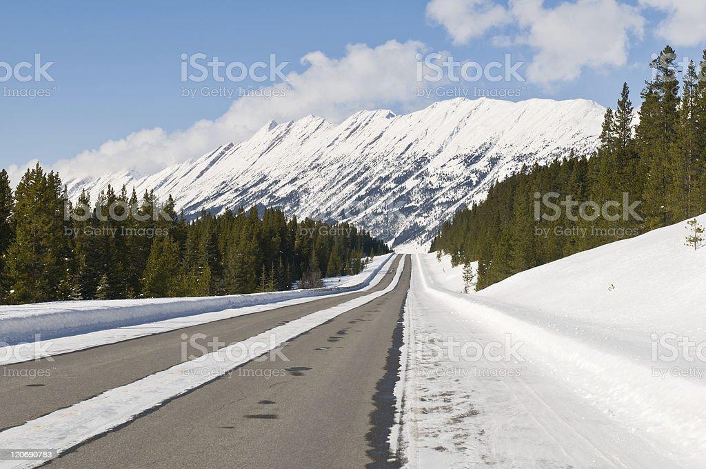 Beautiful Road royalty-free stock photo