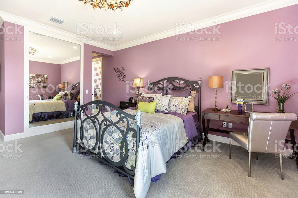 Beautiful Romantic Bedroom Stock Photo - Download Image ...