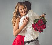 istock Beautiful romantic couple 628197626