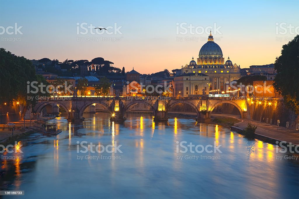 Beautiful Rome royalty-free stock photo