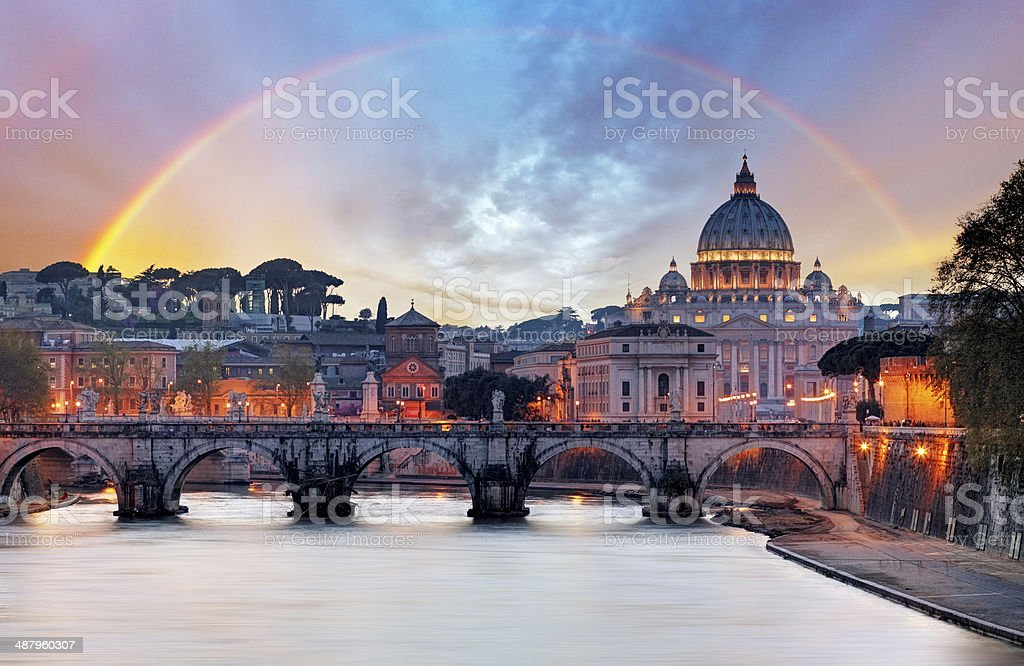 Beautiful Rome - Vatican stock photo