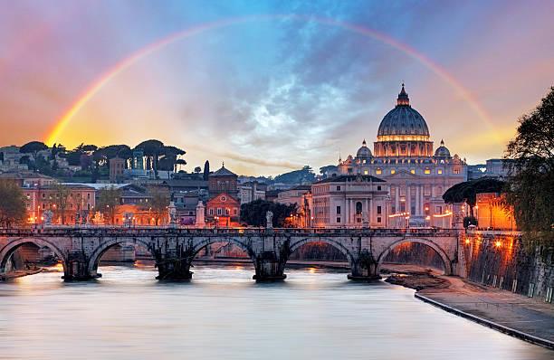 Beautiful Rome - Vatican stock photo