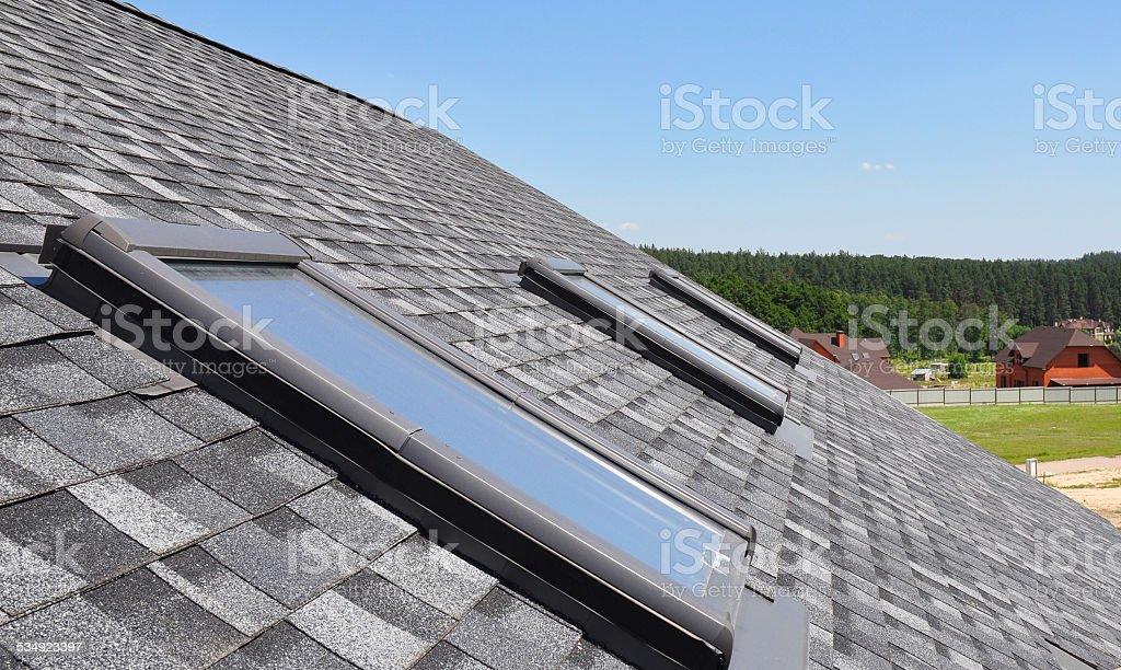 Beautiful Roof Windows stock photo