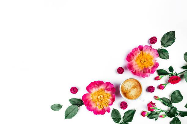 Beautiful roses and peonies on white background top view picture id1181161252?b=1&k=6&m=1181161252&s=612x612&w=0&h=tcl1h2g3k4ulgru0vcfjqxel2ro ki1y2dh2ekswcpw=