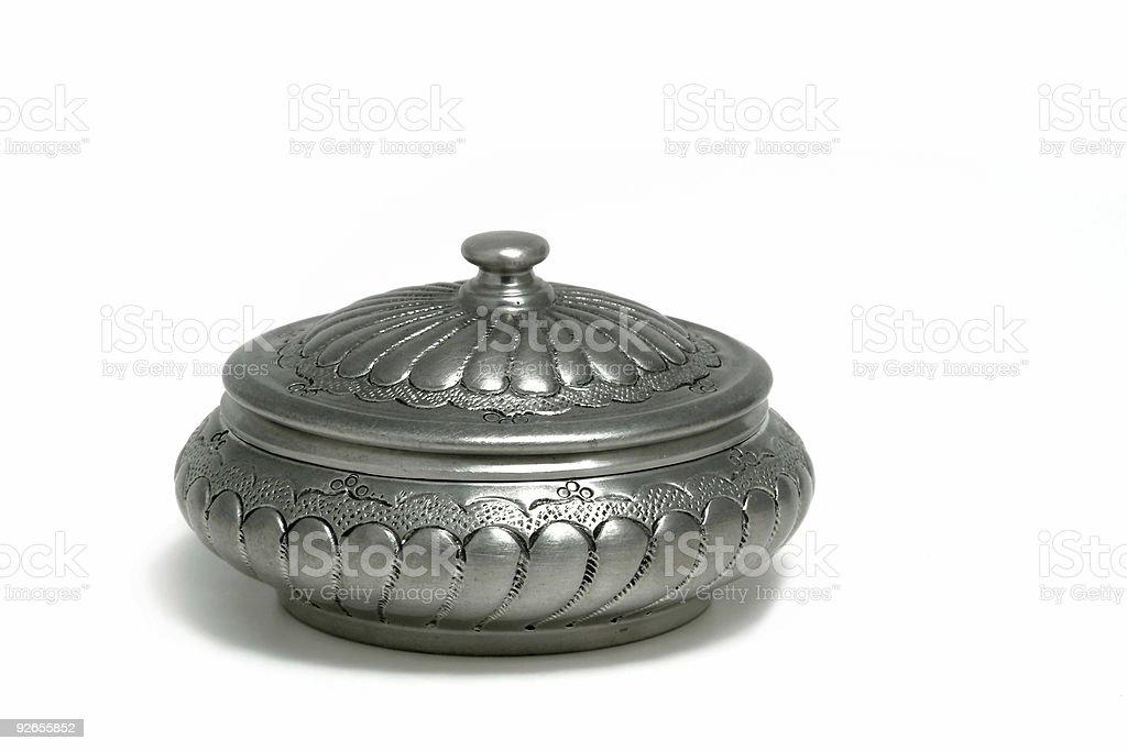 Beautiful round safe box royalty-free stock photo