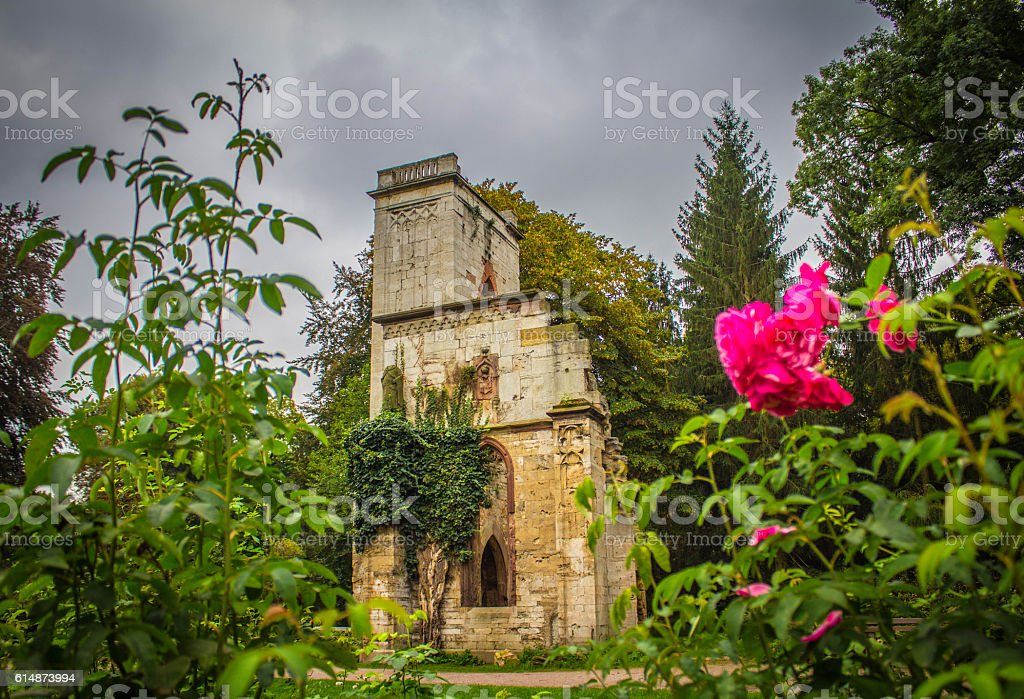 Beautiful Ruins Weimar stock photo