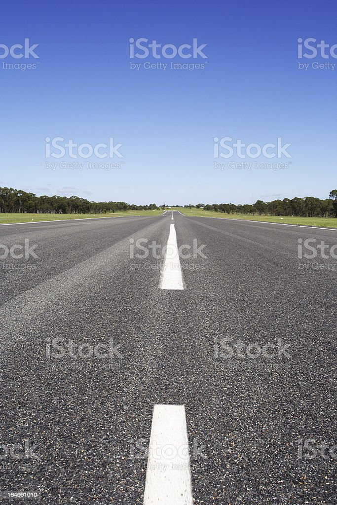 beautiful runway stock photo
