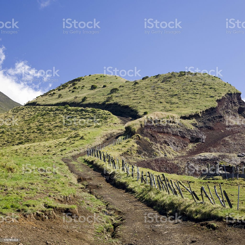 Beautiful Rural Footpath royalty-free stock photo