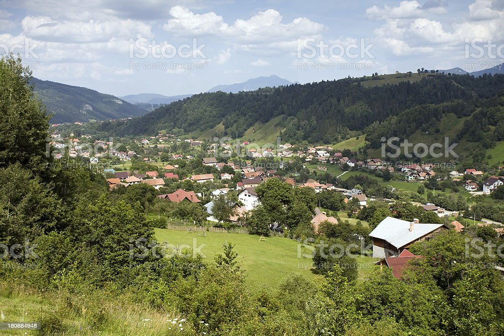 beautiful rural landscape royalty-free stock photo