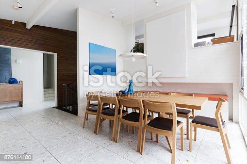 32 More Stunning Scandinavian Dining Rooms: Beautiful Scandinavian Style Interior Dining Room In Mid