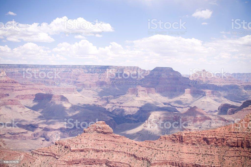 Beautiful scene of the Grand Canyon stock photo