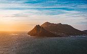 Beautiful Scenery at Chapman's Peak Drive near Cape Town, South Africa
