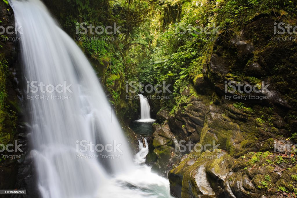Beautiful Scenes from Costa Rica in Central America - Royalty-free Absence Stock Photo