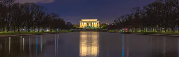 Beautiful scenic panorama night view of abraham lincoln memorial in picture id1153348375?b=1&k=6&m=1153348375&s=612x612&w=0&h=0 rg5x zmephg4rc2rtjdqfbpmcgvebthxmhhkeukvw=