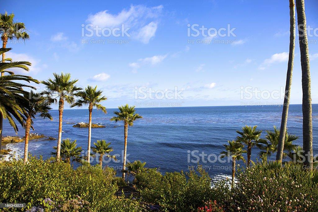 Beautiful Scenry of Laguna Beach royalty-free stock photo