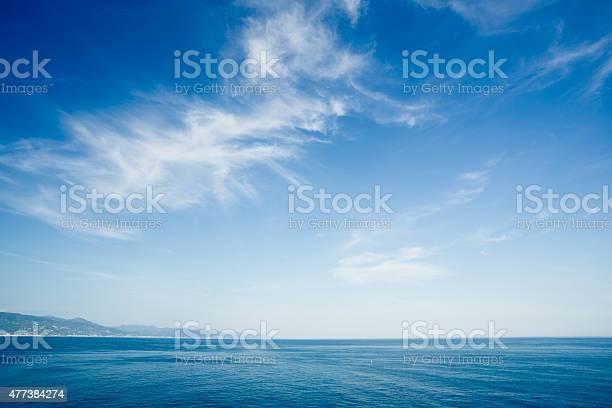 Beautiful, sea landscape. Portofino coast, Italy, Europe