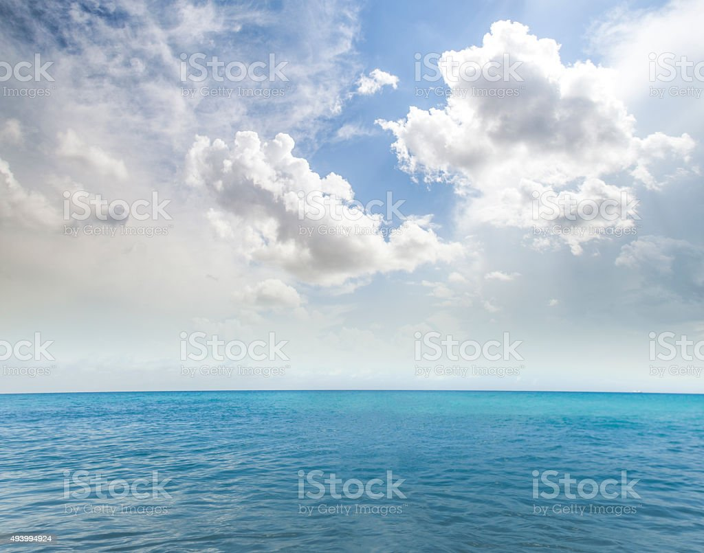 Beautiful, sea landscape stock photo
