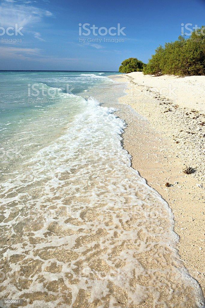 아름다운 바다 길 리메노, Indonesia. royalty-free 스톡 사진