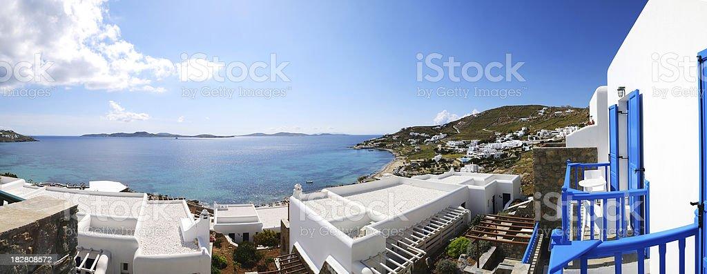Beautiful Sea View From Balcony - XXXLarge royalty-free stock photo