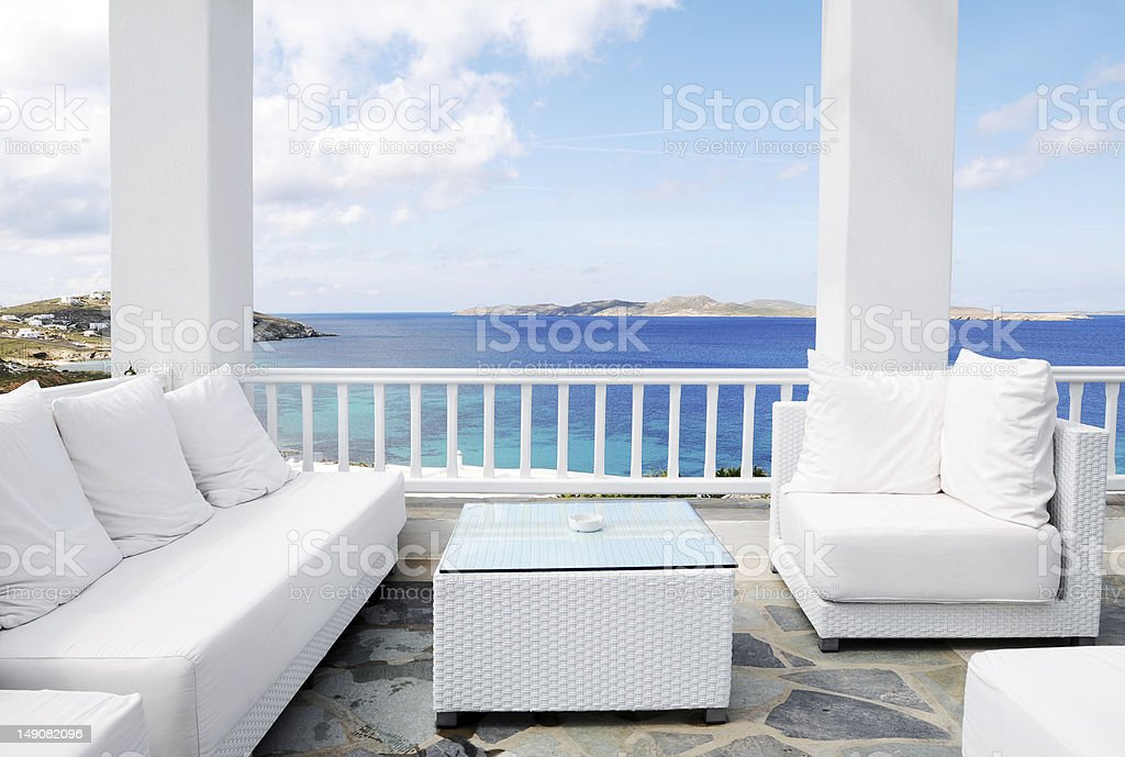 Beautiful Seascape stock photo