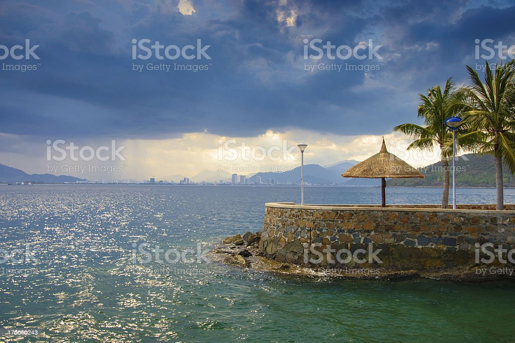 Beautiful seascape royalty-free stock photo