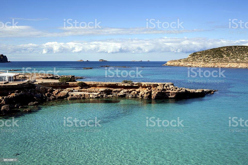 Beautiful seascape royalty-free stock photo