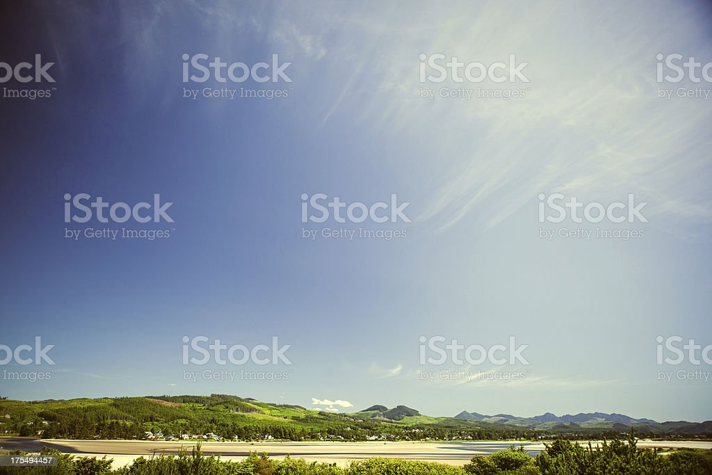 Beautiful Seaside Oregon stock photo
