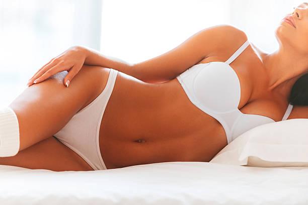 Hermoso seductress. - foto de stock
