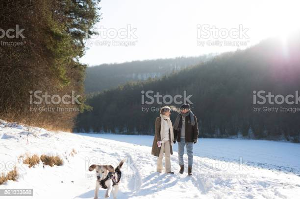 Beautiful senior couple on a walk on sunny winter day picture id861333668?b=1&k=6&m=861333668&s=612x612&h=3qidp8lxrxgnhj3sgknsdlwamf 1o nem4inobmslpa=