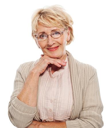 Beautiful Senior Woman Stock Photo - Download Image Now
