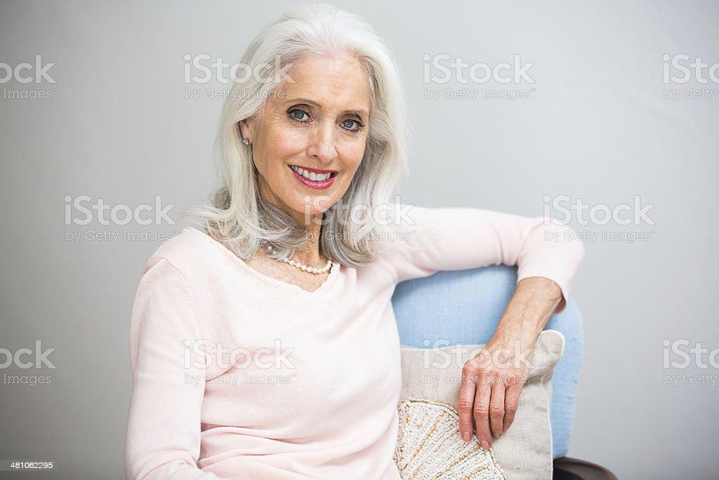 Schöne Senior Frau – Foto